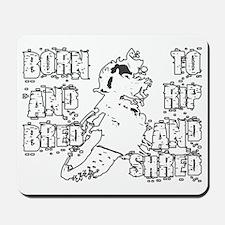 RipAndShredDarkDesign Mousepad