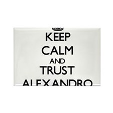 Keep Calm and TRUST Alexandro Magnets