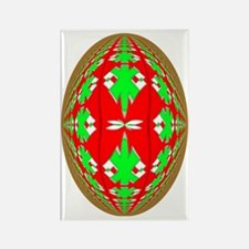 Christmas Ball Rectangle Magnet