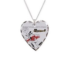 Stap Me! Necklace Heart Charm