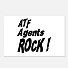 ATF Agents Rock ! Postcards (Package of 8)