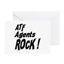 ATF Agents Rock ! Greeting Cards (Pk of 10)