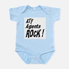 ATF Agents Rock ! Infant Bodysuit