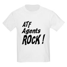 ATF Agents Rock ! Kids T-Shirt