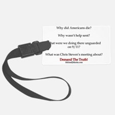 Benghazi Questions Luggage Tag