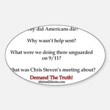 Benghazi Questions Decal