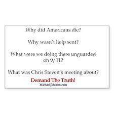 Benghazi Questions Decal