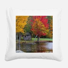 Cold Stream Ponds Country Col Square Canvas Pillow
