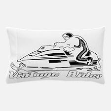 VintageRiderDarkDesign Pillow Case