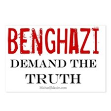 Benghazi Truth large Postcards (Package of 8)