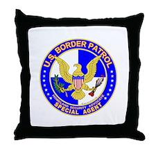 U.S. Border Patrol Throw Pillow