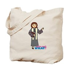 Preacher Woman Tote Bag