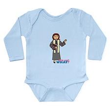 Preacher Woman Long Sleeve Infant Bodysuit