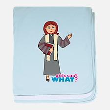 Preacher Woman baby blanket