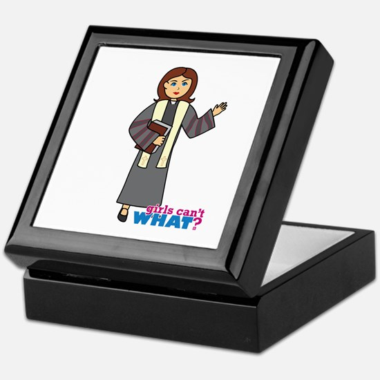 Preacher Woman Keepsake Box
