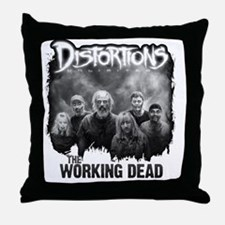 Working Dead Throw Pillow