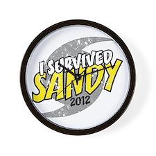 Hurricane Sandy Emergency I Survived 20 Wall Clock
