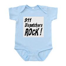 911 Dispatchers Rock ! Infant Bodysuit