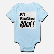 911 Dispatchers Rock ! Infant Bodysuit