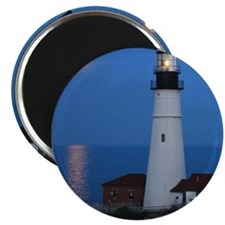 Super Moons Lighthouse View Magnet