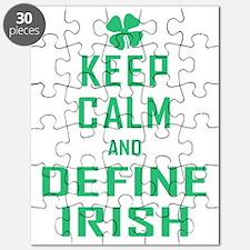 Keep Calm Define Irish Puzzle