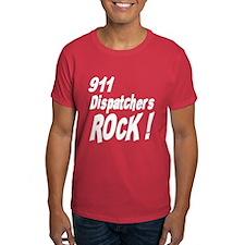 911 Dispatchers Rock ! T-Shirt