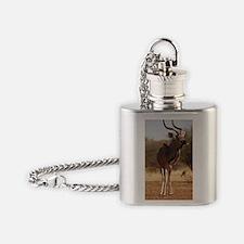 Kudu 3114-208 Flask Necklace