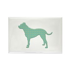 Paisley Dogo Rectangle Magnet (100 pack)