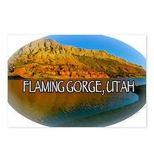 FLAMING GORGE, UTAH Postcards (Package of 8)