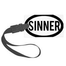 Sinner Luggage Tag