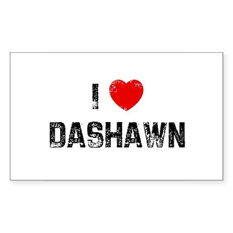 I * Dashawn Rectangle Sticker
