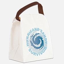 Hurricane Sandy Survivor 2012 Canvas Lunch Bag