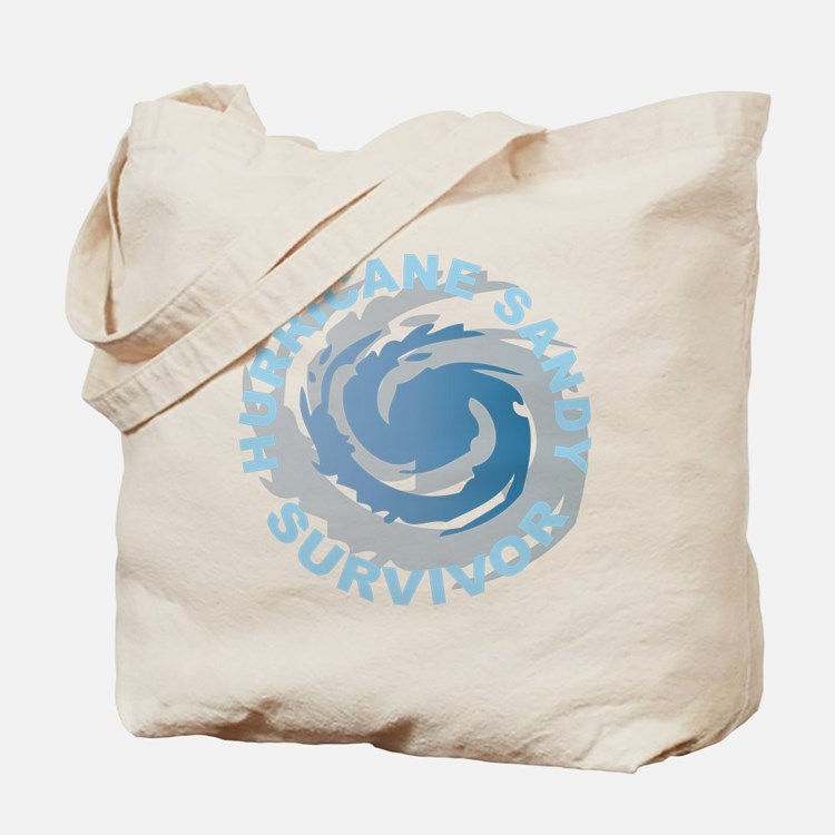 Hurricane Sandy Survivor 2012 Tote Bag