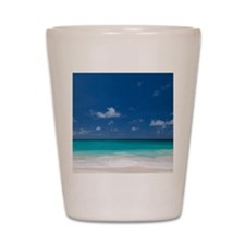 Calm Beach Shot Glass
