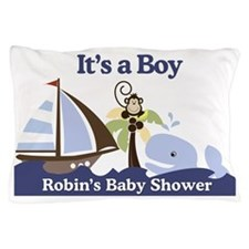 Robins Baby Shower Yard Sign Pillow Case