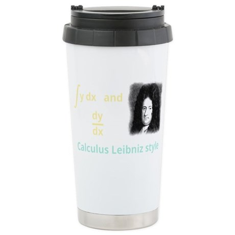 Calculus Leibniz style Stainless Steel Travel Mug