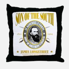 SOTS2 Longstreet (gold) Throw Pillow