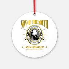 SOTS2 Longstreet (gold) Round Ornament