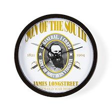 SOTS2 Longstreet (gold) Wall Clock