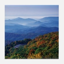 Blueridge Parkway Landscape Tile Coaster