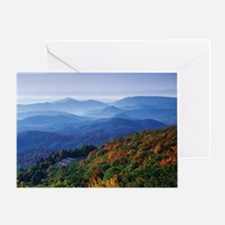 Blueridge Parkway Landscape Greeting Card