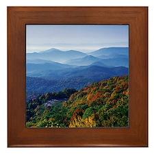 Blueridge Parkway Landscape Framed Tile