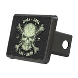 Pirate skull and crossbones Hitch Covers