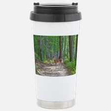 Doe in forest Travel Mug