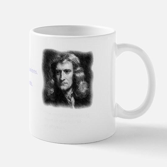 Isaac Newton - inventor of calculus Mug