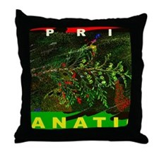 SPRIG FANATIC PUZZLE Throw Pillow