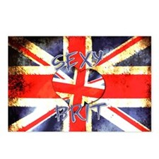 Sexy Brit 3 Postcards (Package of 8)