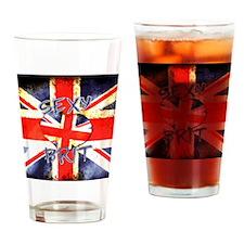 Sexy Brit 3 Drinking Glass