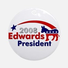 ::: John Edwards - Star and Stripe ::: Ornament (R