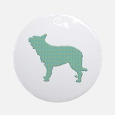 Paisley Berger Ornament (Round)